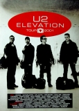 U2 - U2 - Plakat - Elevation Tour 2001 - Poster - Reprint