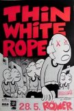 THIN WHITE ROPE - 1990 - Konzertplakat - Sack full of... - Tourposter - Bremen