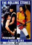 ROLLING STONES - 1982-06-06 - Plakat - In Concert - Tourposter - Hannover