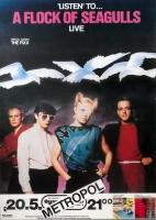 A FLOCK OF SEAGULLS - 1983 - Konzertplakat - Concert - Tourposter - Berlin