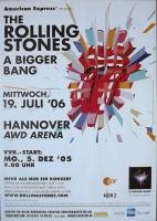 ROLLING STONES - 2006-07-19 - Konzertplakat - Tourposter - Hannover (Z)