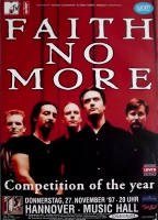 FAITH NO MORE - 1997 - Konzertplakat - Competition of... - Tourposter - Hannover