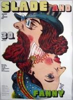 SLADE - 1972 - Plakat - Günther Kieser - Poster - Frankfurt