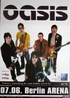 OASIS - 2000 - Plakat - Concert - Standing on the... Tour - Poster - Berlin