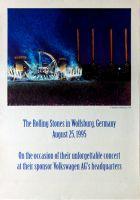 ROLLING STONES - 1995-08-25 - Plakat - Voodoo Lounge - Poster - Wolfsburg