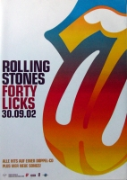 ROLLING STONES - 2002-09-02 - Promoplakat - Fourty Licks - Poster