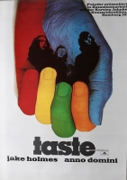 TASTE - RORY GALLAGHER - 1970 - Plakat - Concert - On the Boards Tour - Poster