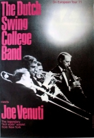 DUTCH SWING COLLEGE BAND - 1971 - Tourplakat - Europen - Tourposter