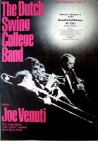 DUTCH SWING COLLEGE BAND - 1971 - Konzertplakat - Jazz - Tourposter - Frankfurt