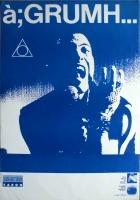 A GRUMH - 1989 - Tourplakat - EBM - A hard Days Knight - Tourposter