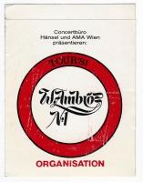 AMBROS, WOLFGANG - 1981 - Pass - Selbstbewusst Tour - Organisation