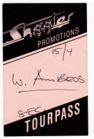 AMBROS, WOLFGANG - 1988 - Tourpass - Gewitter