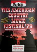 AMERICAN COUNTRY FESTIVAL - 1979 - Osbourne Brothers - Poster - Düsseldorf