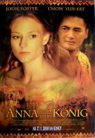 ANNA UND DER KÖNIG - 1999 - Filmplakat - Jodie Foster - Chow Yun-Fat - Poster