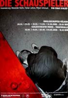 DIE SCHAUSPIELER - 2008 - Theater - Einar Schleef - Josefsohn - Poster - Mülheim