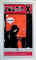 COUSIN X - 2000 - Konzertplakat - Concert - Poster - Vera - Groningen