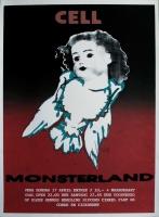 CELL - MONSTERLAND - 1994 - Konzertplakat - Concert - Poster - Vera - Groningen