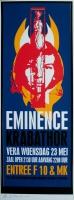 EMINENCE - KRABATHOR - 2001 - Konzertplakat - Poster - Vera - Groningen