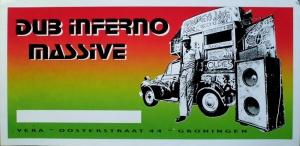 DUB INFERNO MASSIVE - XXXX - Konzertplakat - Concert - Poster - Vera - Groningen