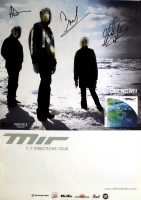 MIR - 2007 - Tourplakat - Concert - 7 Directions - Tourposter - Autogramme