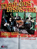 FABULOUS DISASTER - 2003 - Tourplakat - Concert - Panty Raid - Tourposter