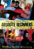 ABSOLUTE BEGINNERS - 1985 - Plakat - David Bowie - Sade - Poster