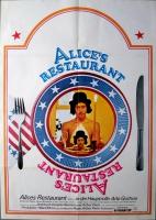 ALICES RESTAURANT - 1969 - Plakat - Arlo Guthrie - Poster