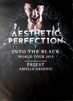 AESTHETIC PERFECTION - 2019 - Plakat - In Concert - Into the Black - Poster