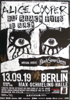 BLACK STONE CHERRY - 2019 - Alice Cooper - Poster - Berlin - Signed/Autogramm