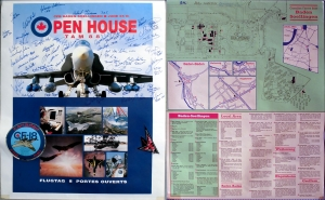 CANADIAN FORCES AIR - 1988 - Poster - Autogramme/signed - Soellingen