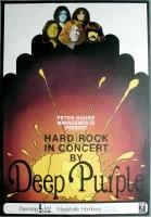 DEEP PURPLE - 1970 - Plakat - In Concert - In Rock Tour - Poster - Hamburg