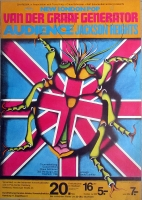 VAN DER GRAAF GENERATOR - 1971 - Plakat - New London Pop - Poster - Hamburg