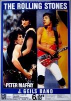 ROLLING STONES - 1982-06-06 - Plakat - In Concert - Tourposter - Hannover