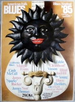 AMERICAN FOLK & BLUES - 1985 - Plakat - Günther Kieser - Poster - Freiburg
