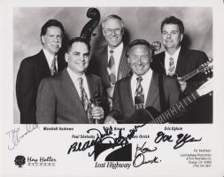 LOST HIGHWAY - Original Autogramm - Hay Holler Records - Signiert