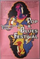 POP & BLUES FESTIVAL - 1969 - Pink Floyd - Taste - Fleetwod Mac - Poster - Essen