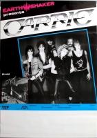 CARRIE - 1986 - Plakat - In Concert - Heavy Metal - Secrets Tour - Poster