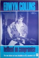 COLLINS, EDWYN - 1990 - Plakat - Hellbent on Compromise - Poster