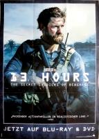 13 HOURS - 2016 - Film - Plakat - John Krasinski - Poster