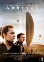 ARRILVAL - 2016 - Film - Plakat - Amy Adams - Jeremy Renner - Poster