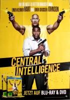 CENTRAL INTELLIGANCE - 2016 - Film - Dwayne Johnson - Kevin Hart - Poster