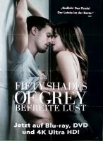 FIFTY SHADES OF GREY - 2015 - Film - Rita Ora - Dakota Johnson - Poster