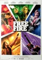 FREE FIRE - 2016 - Film - Brie Larson - Cillian Murphy - Poster