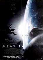 GRAVITY - 2013 - Film - Sandra Bullock - George Clooney - Poster