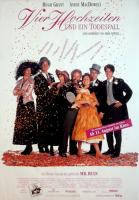 VIER HOCHZEITEN UND EIN TODESFALL - 1994 - Film - Plakat - Hugh Grant - Poster