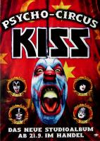 KISS - 1999 - Promoplakat - Psycho Circus - Poster