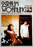 2 RAUMWOHNUNG - HUMPE - 2005 - Promoplakat - Melancholisch Schön - Poster