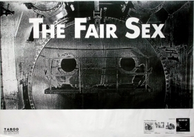 FAIR SEX, THE - 1989 - Tourplakat - In Concert - Demented Forms - Tourposter