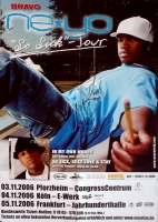 NE-YO - 2006 - Tourplakat - So Sick - Poster - Dortmund - Autogramm / Signed