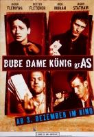 BUBE DAME KÖNIG GRAS - 1998 - Filmplakat - Fleming - Fletcher - Moran - Poster